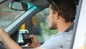 distracted driving, crash, accident