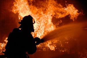 firefighter, crash, accident